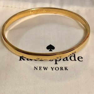Brand new !Heart of gold Kate spade bangle
